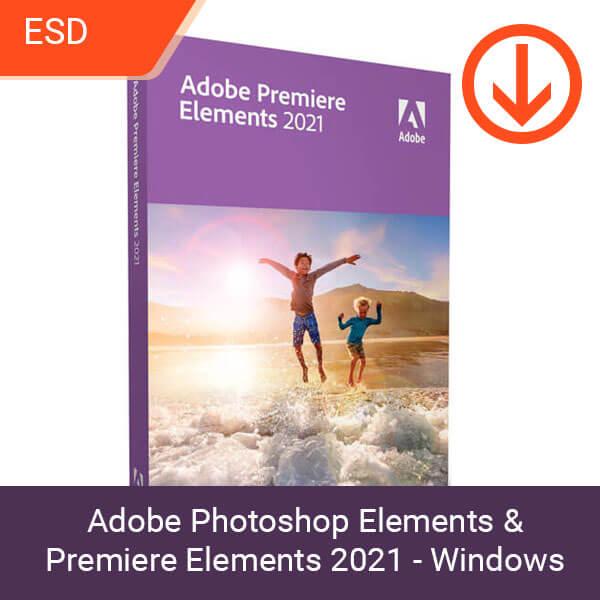 Adobe Photoshop Elements & Premiere Elements 2021 - Windows