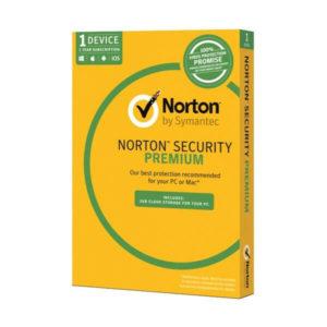 Norton Security Premium box