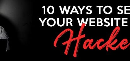 10 ways to secure your website from hackers