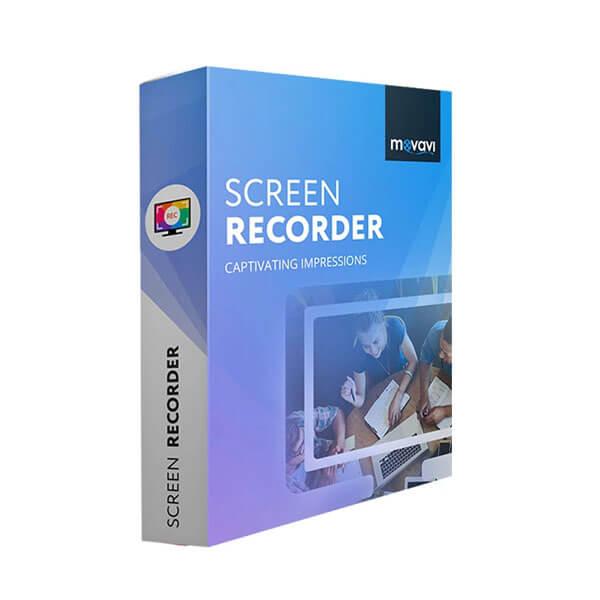 Movavi Screen Recorder for Mac - box