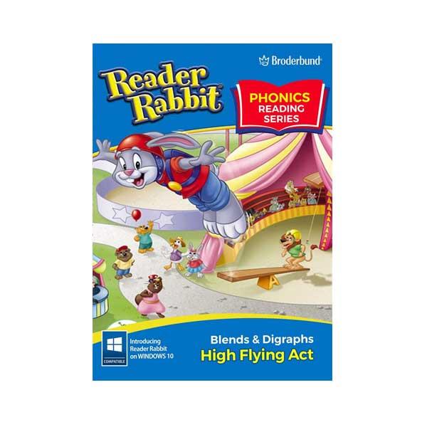 Broderbund-Reader-Rabbit-High-Flying-Act-Box