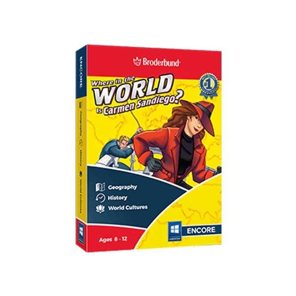 Broderbund-Where-in-the-World-is-Carmen-Sandiego-Box