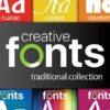 Creative-Fonts-Traditional-Collection-Primary