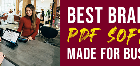 best brands of PDF software made for businesses